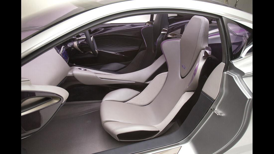 Infiniti Emerg-E, Fahrersitz, Vordersitz, Innenraum