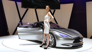 Infiniti Emerg-e Studie Auto-Salon Genf 2012