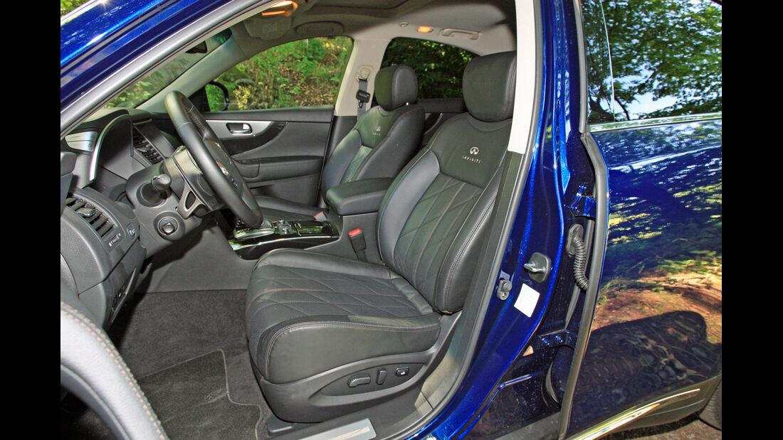 Infiniti FX30d GT Premium, Fahrersitz