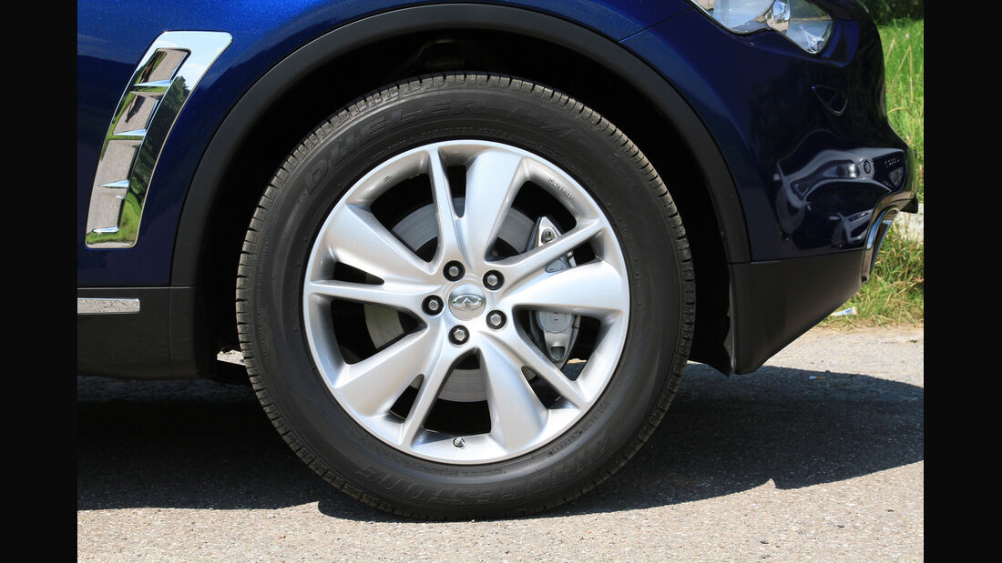 Infiniti FX30d GT Premium, Rad, Felge