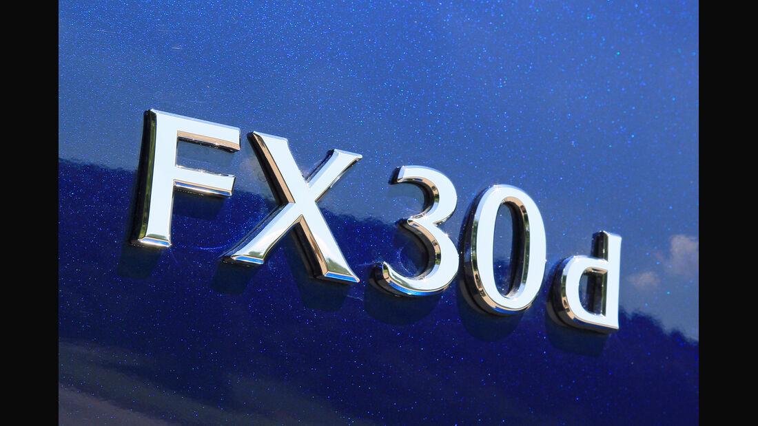 Infiniti FX30d GT Premium, Typenbezeichnung
