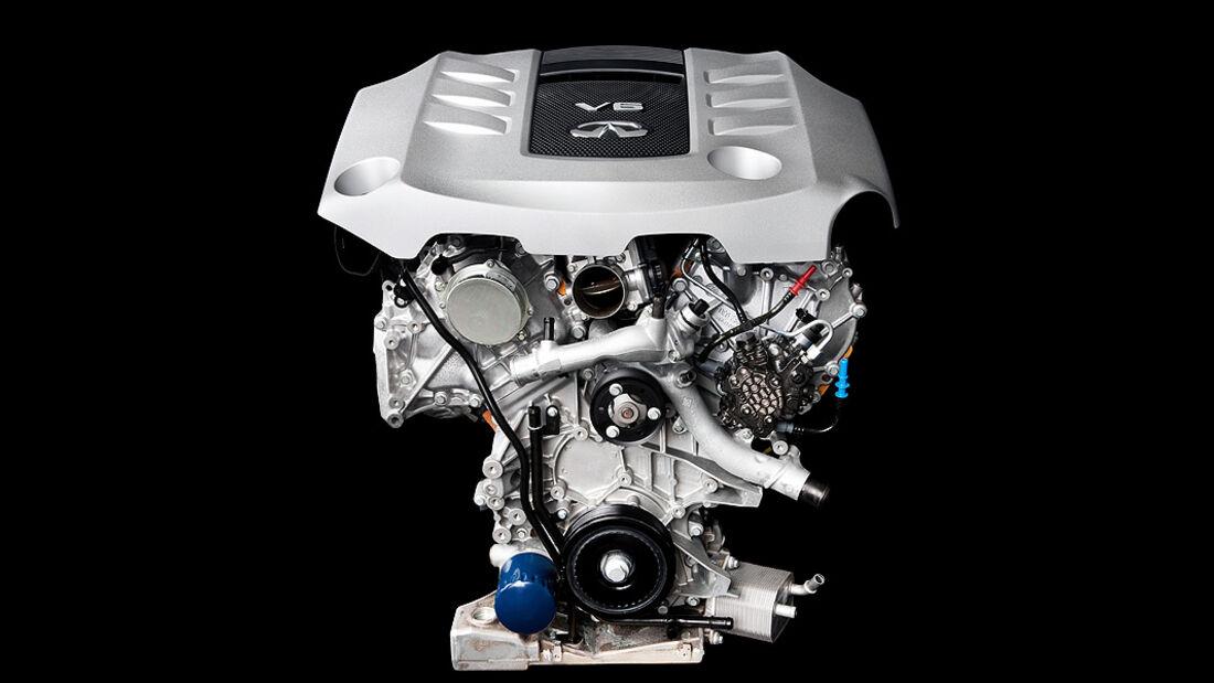 Infiniti FX30d S, Motor, V6-Diesel