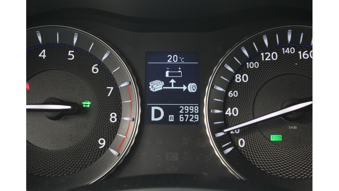 Infiniti M35h GT Premium, Rundelemente
