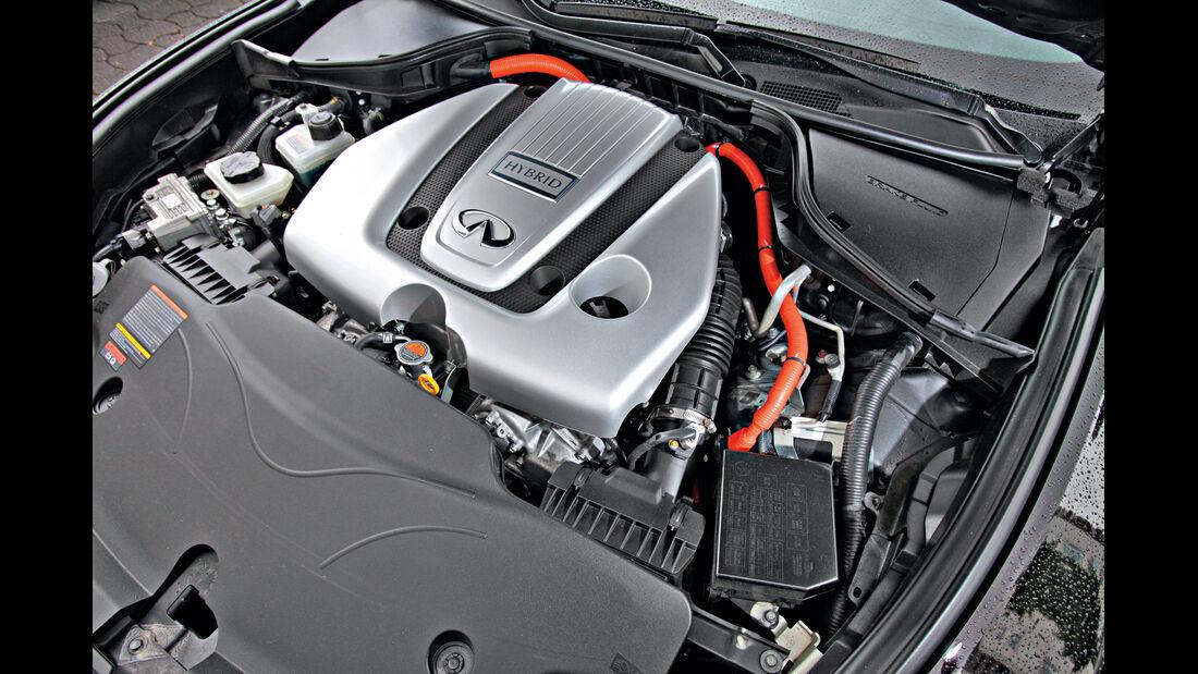 Infiniti M35h, Motor