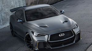 Infiniti Project Black S (2018) Paris Auto Show