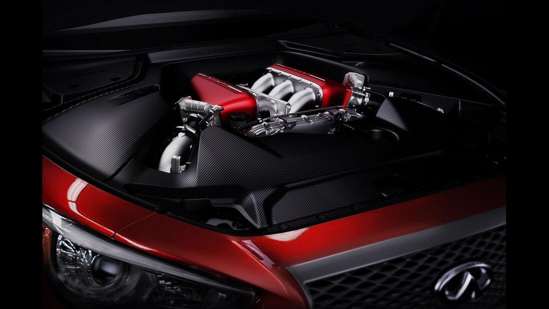 Infiniti Q50 Eau Rouge Motor