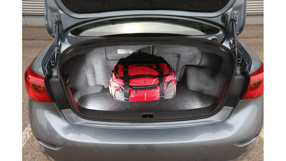 Infiniti Q50 S 3.5 V6 Hybrid, Kofferraum