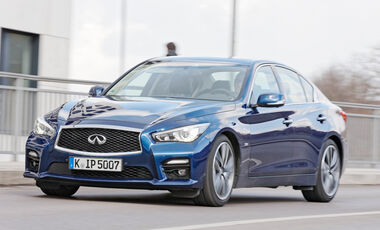 Infiniti Q50S 3.0t, Frontansicht