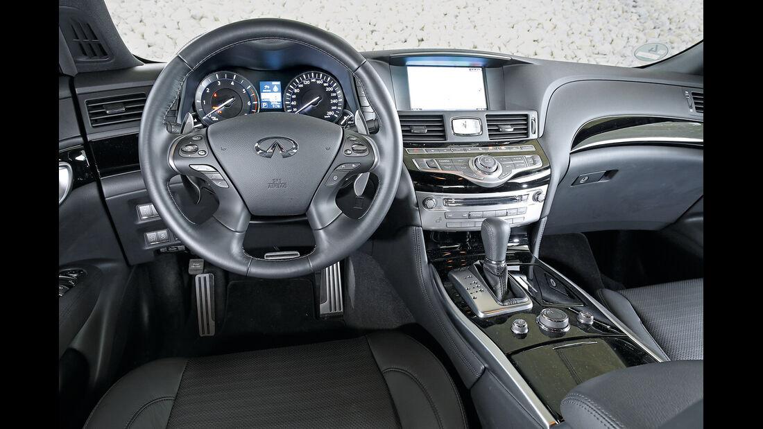 Infiniti Q70 2.2 D Sport, Cockpit