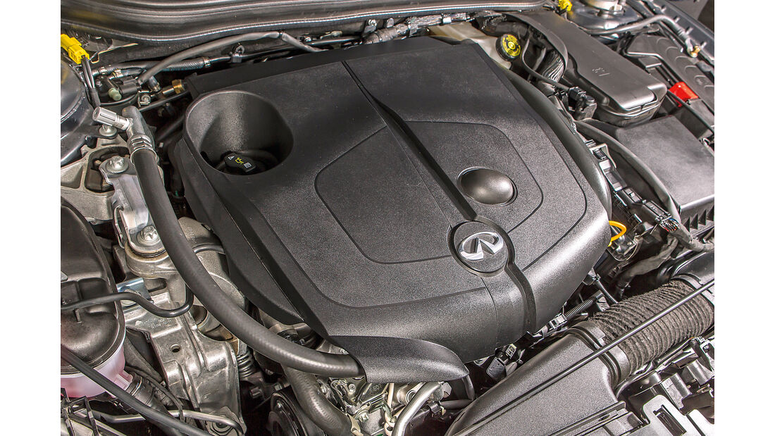 Infiniti QX30 2.2d, Motor