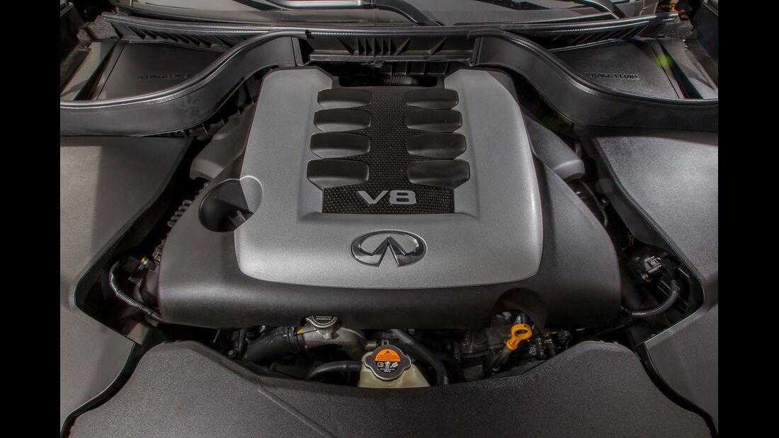 Infiniti QX70 5.0 S, Motor