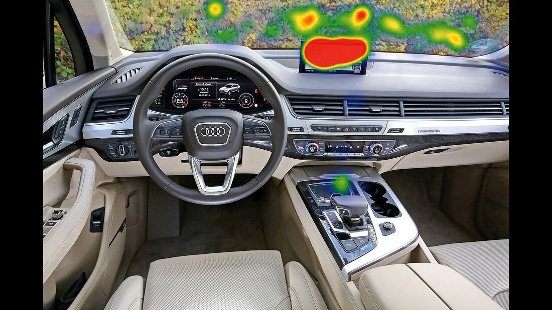 Infotainment-Bedienung, Audi Q7