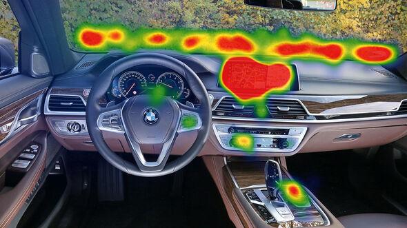 Infotainment-Bedienung, BMW 750i