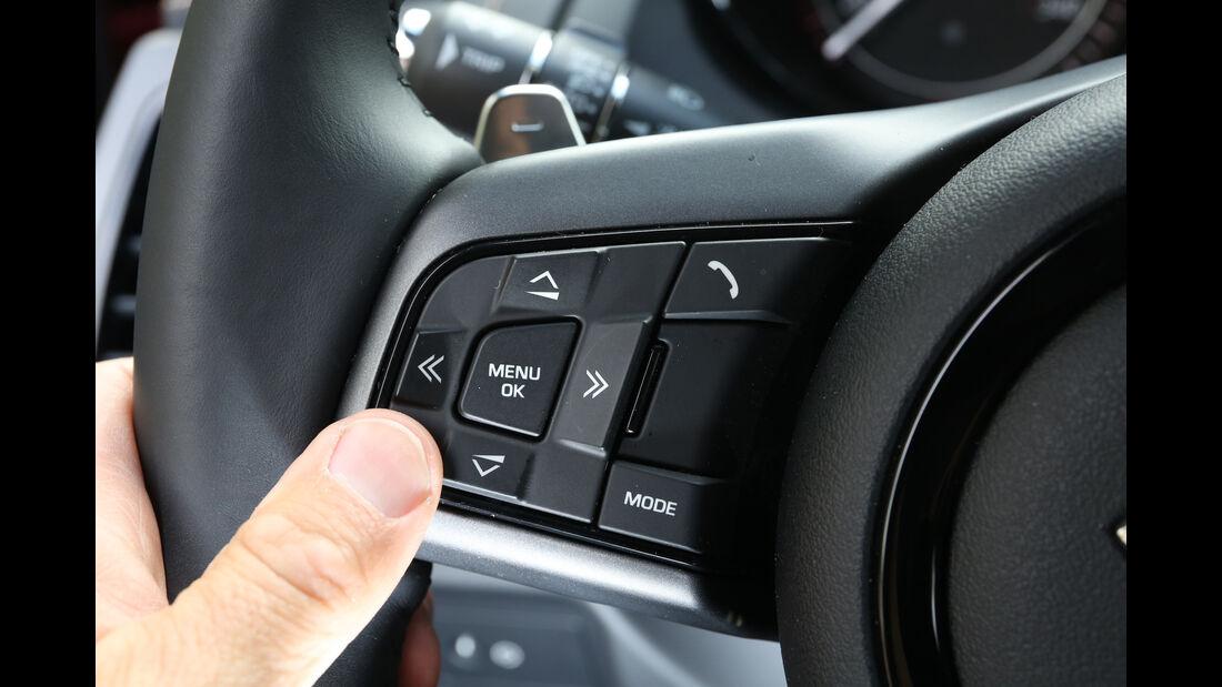Infotainment-Bedienung, Jaguar F-Type