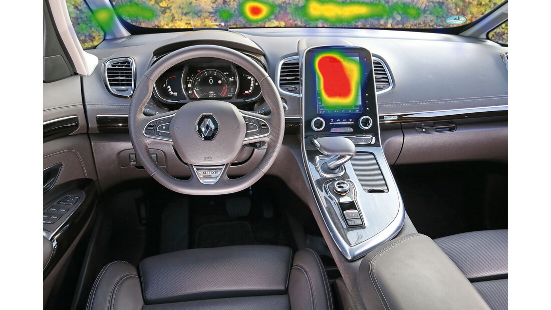Infotainment-Bedienung, Renault Espace