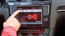 Infotainment, VW Golf, Klangcharakter
