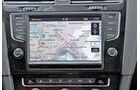 Infotainment, VW Golf, Navi, Verkjehr