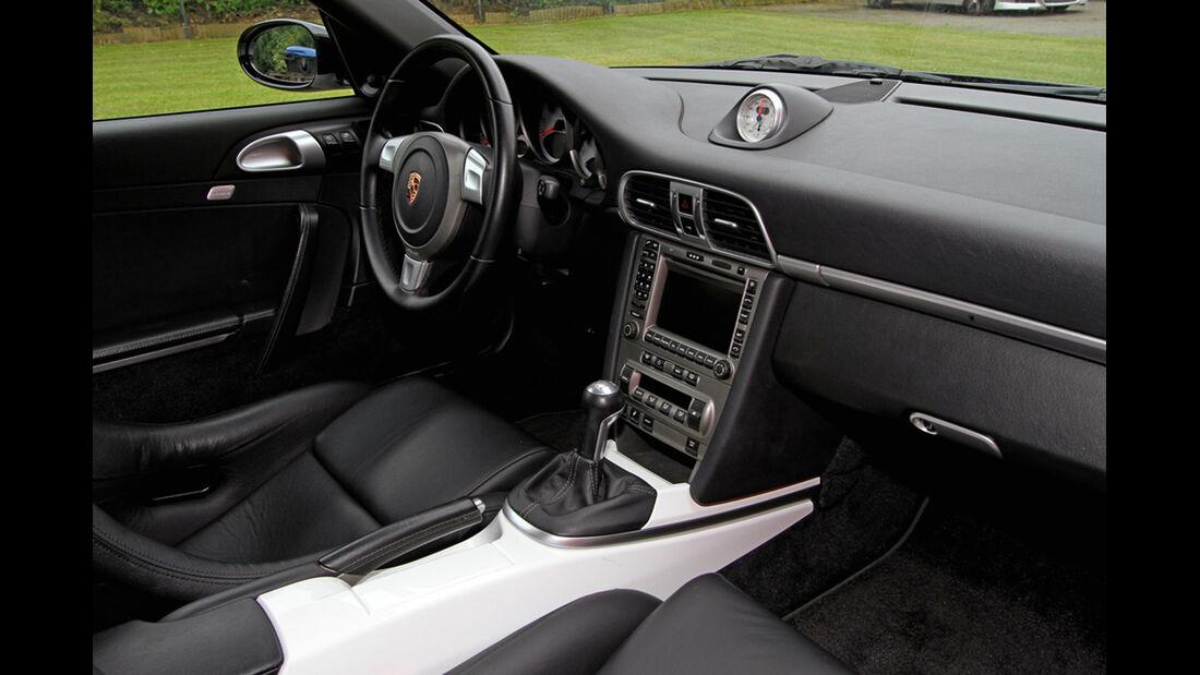 Ingo Noak Tuning, Porsche 911 (997),  Tuning, Sportwagen, Innenraum