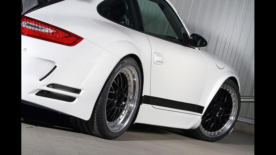 Ingo Noak Tuning, Porsche 911 (997),  Tuning, Sportwagen, Seitenansicht