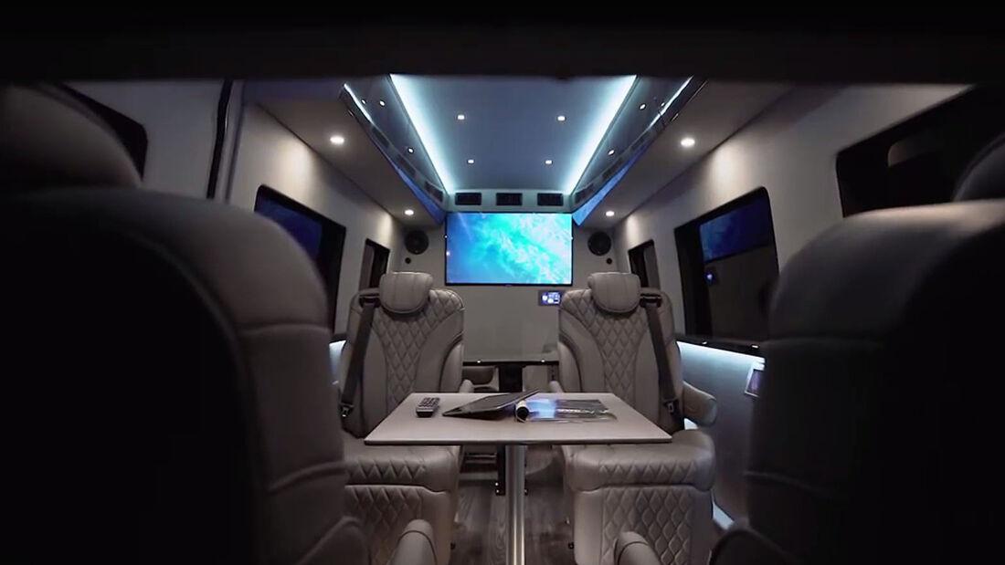 Inkas Mercedes Sprinter Office Limousine