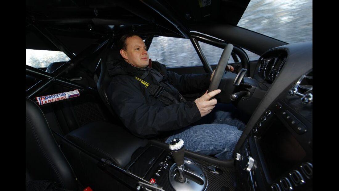 Innenraum, Bentley Continental Supersports Convertible ISR, Finnland