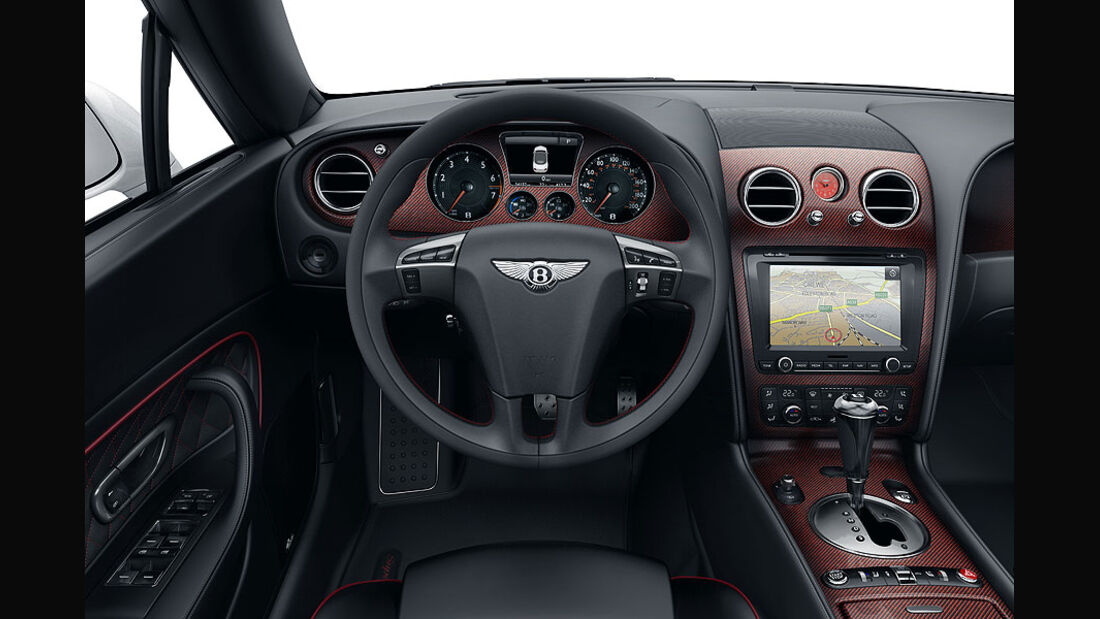 Innenraum, Bentley Continental Supersports Convertible ISR, Sondermodell