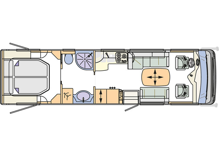 Concorde Liner Im Innenraum Check: Single Tür Und Staufach Orgie   Auto  Motor Und Sport