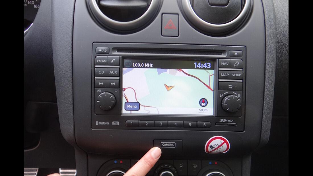 Innenraum-Check Nissan Qashqai, Cockpit