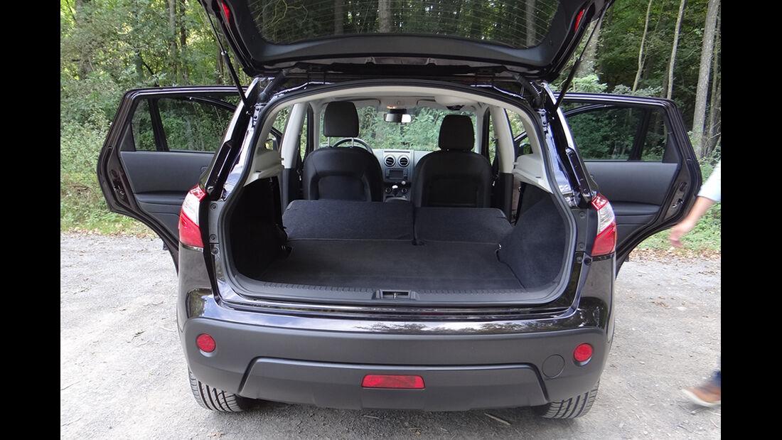 Innenraum-Check Nissan Qashqai, Kofferraum