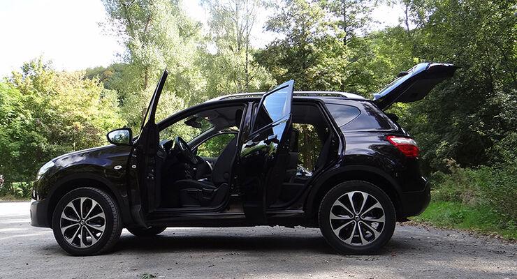 Innenraum-Check Nissan Qashqai