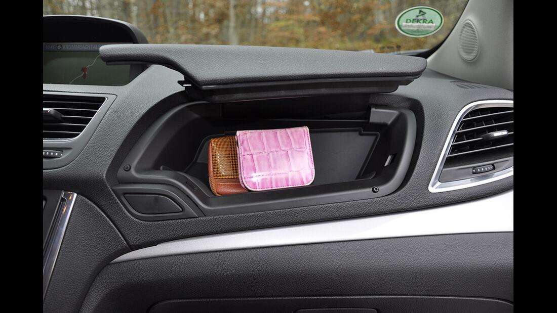 Innenraum-Check Opel Mokka, Ablagen, Staufächer