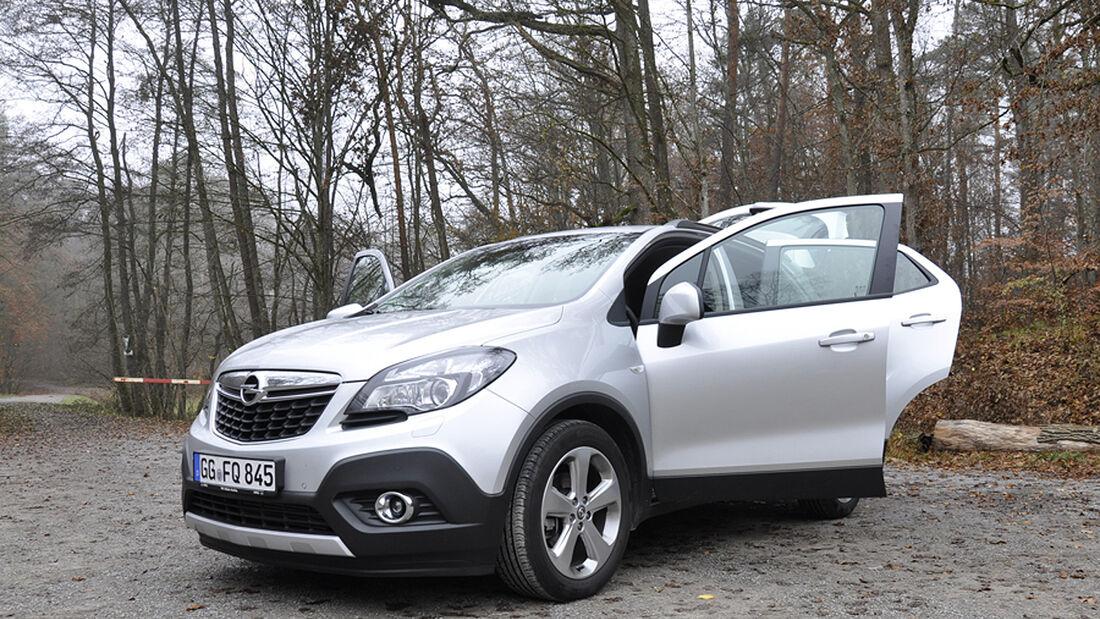 Innenraum-Check Opel Mokka, Frontansicht