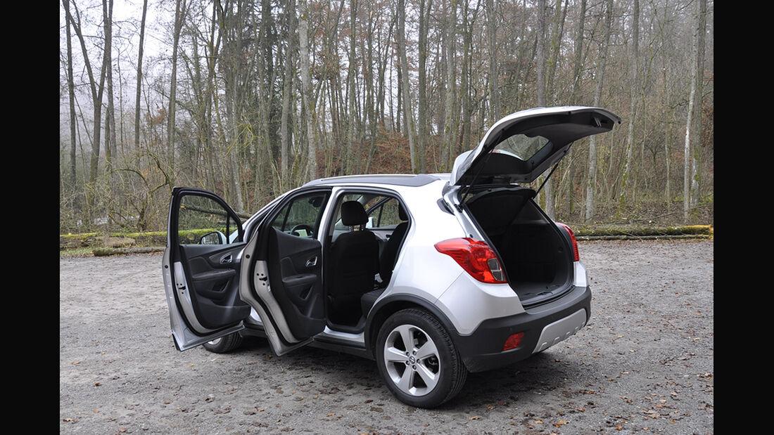 Innenraum-Check Opel Mokka, Heck