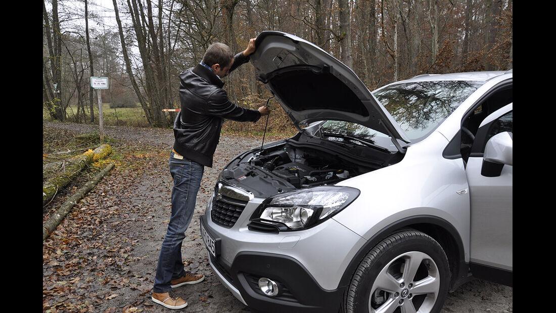 Innenraum-Check Opel Mokka, Motorhaube
