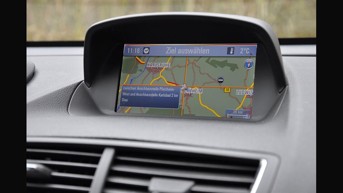 Innenraum-Check Opel Mokka, Navigationssystem, Bedienung