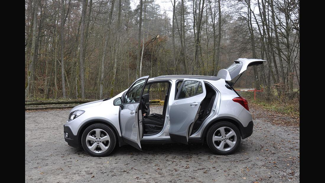 Innenraum-Check Opel Mokka, Seitenansicht
