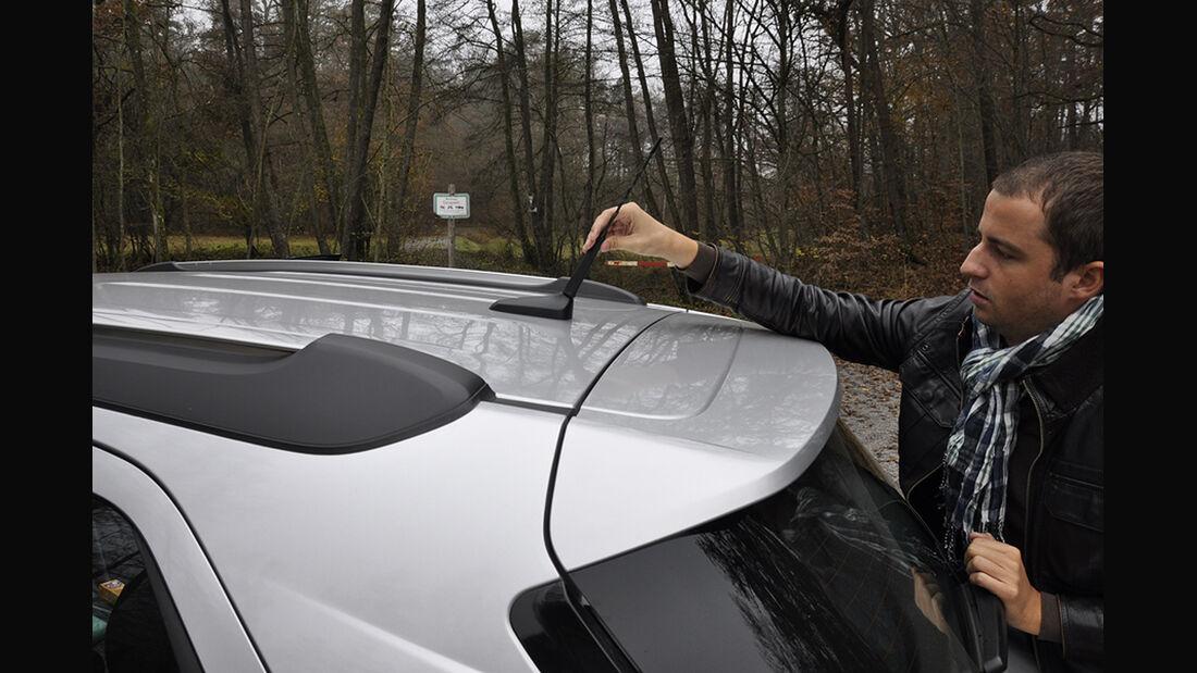Innenraum-Check Opel Mokka, abnehmbare Antenne