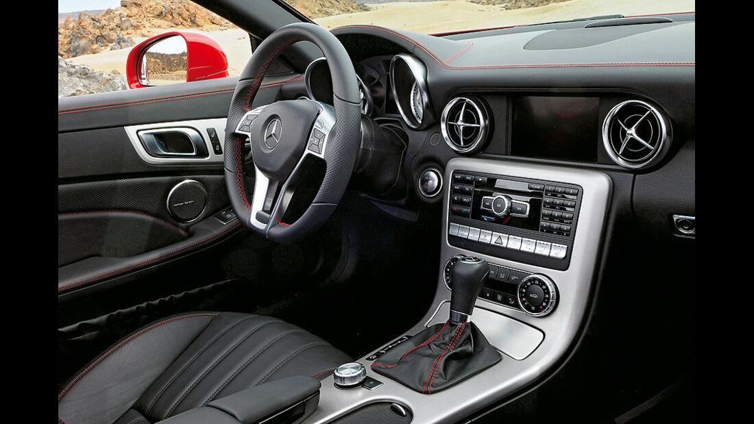 Innenraum, Mercedes SLK 350