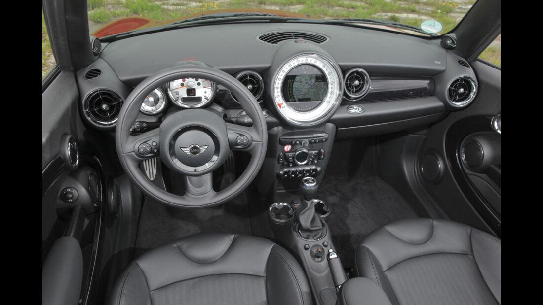 Innenraum Mini Cooper S Cabrio
