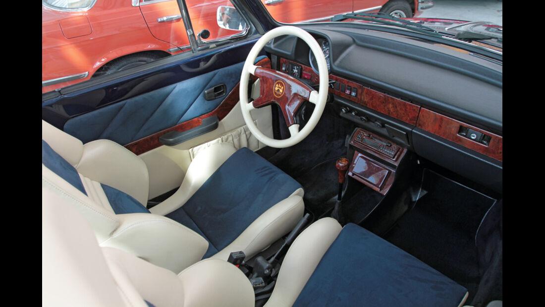Innenraum, Oldtimer, Lenkrad, VW, Käfer