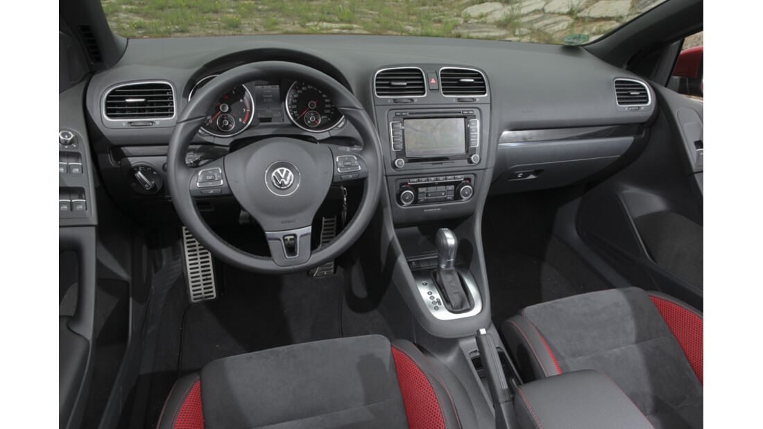 Innenraum VW Golf Cabrio 1.4 TSI