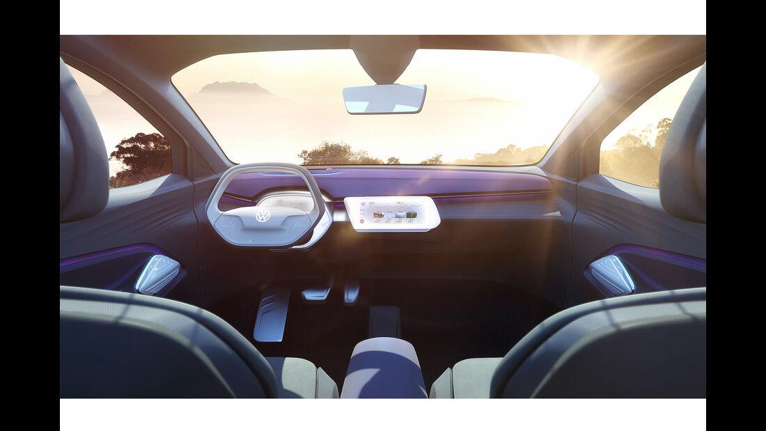 Innenraum VW ID Crozz
