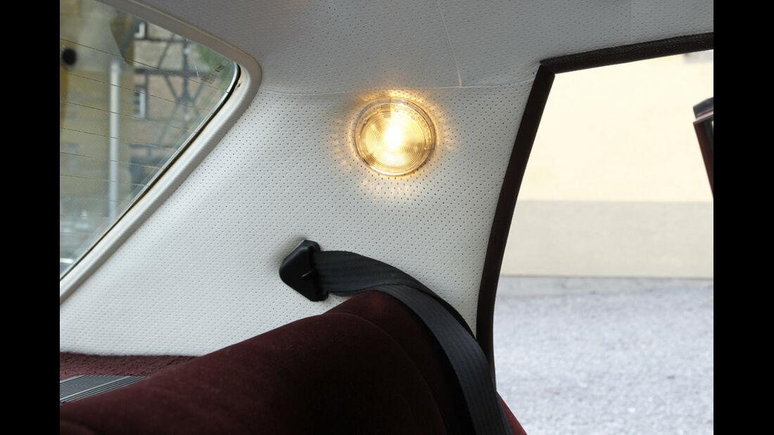 Innenraumbeleuchtung, Opel Diplomat B V8, Baujahr 1977