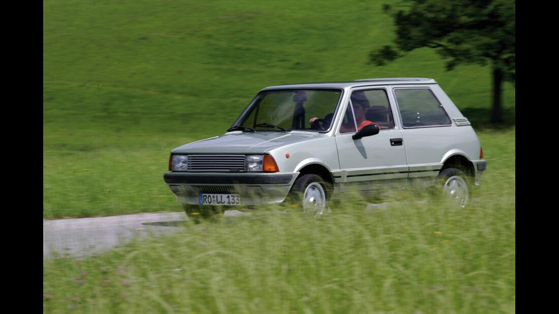 Innocenti Mini 90/120, Seitenansicht