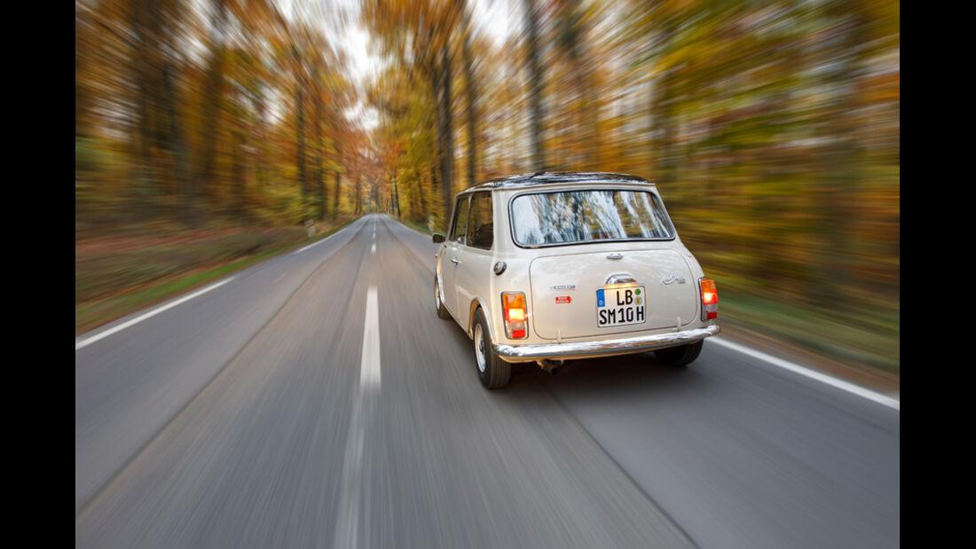 Innocenti Mini Cooper 1300 Export, Heck, Heckleuchte