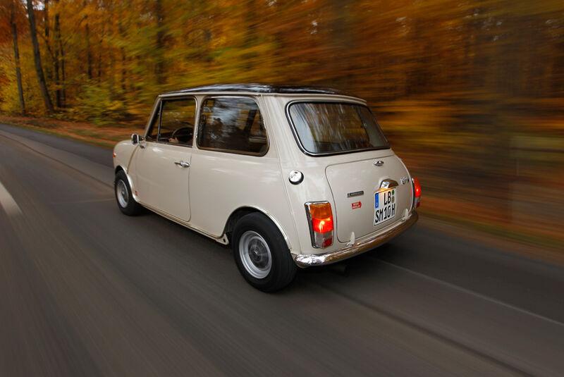 Innocenti Mini Cooper 1300 Export, Heck