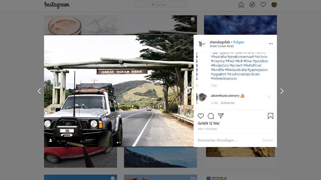 Instagram Great Ocean Road