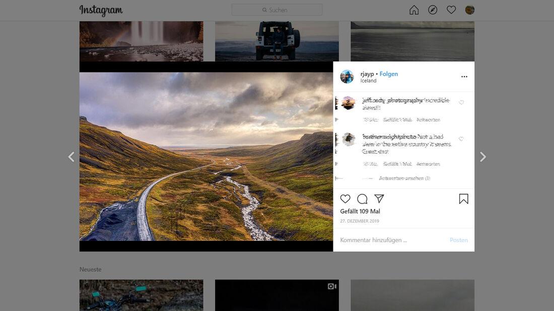 Instagram Ring Road