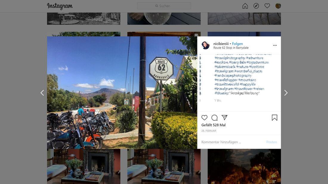 Instagram Route 62