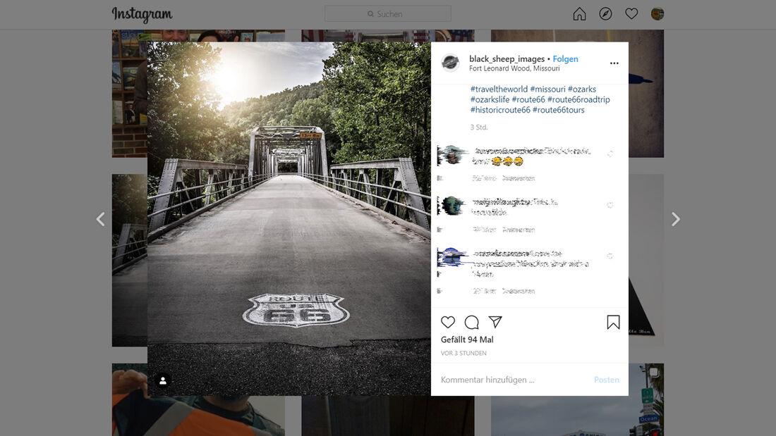 Instagram Route 66